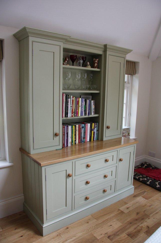 Living indigo cabinets for Indigo kitchen cabinets